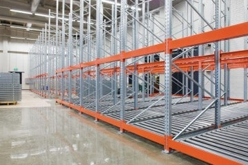 Dexion Push Back Pallet Racking