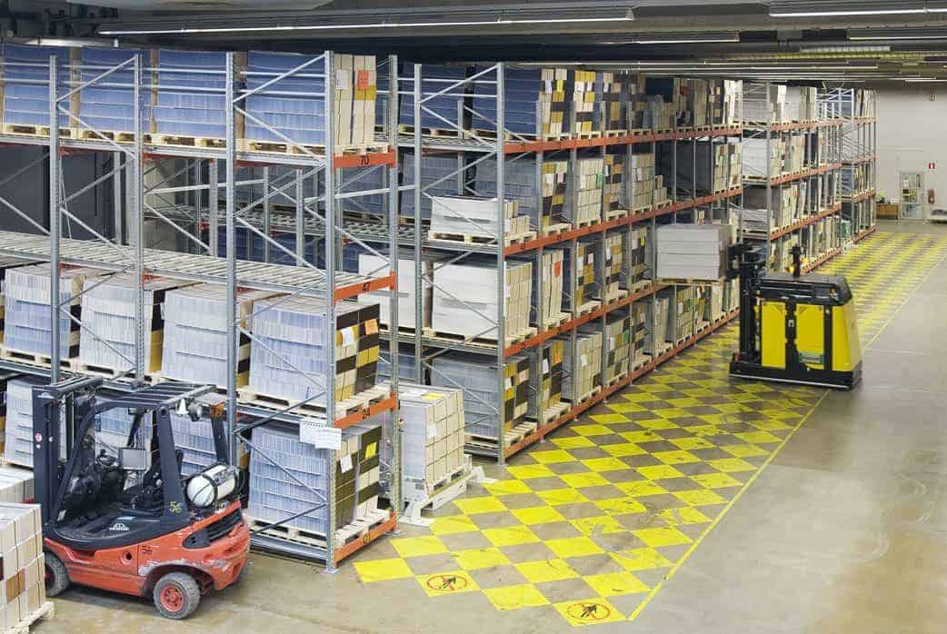 Dexion Push Back Pallet Racking Shelving Dexion